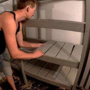 Как сделать стеллаж своими руками: проекты, схемы и варианты постройки удобных вариантов стеллажей (135 фото)