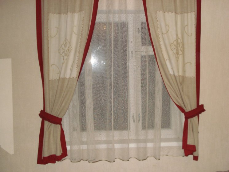 как обновить старые шторы своими руками фото выбрать