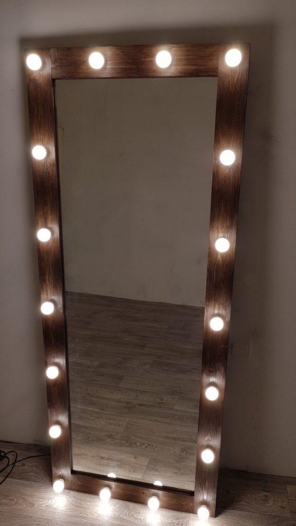 зеркало с подсветкой своими руками фото кастельдефельс такая