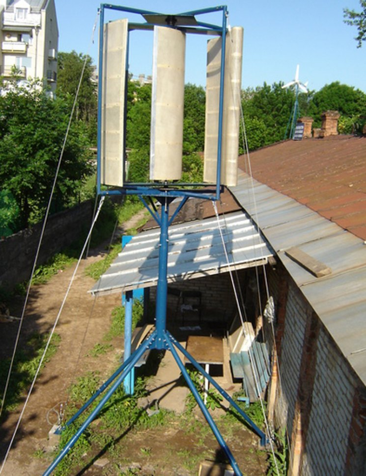 ветряк на даче своими руками фото
